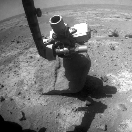 Opportunity's RAT on Marquette Island, sol 2068 (November 17, 2009)