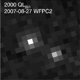 Hubble photo of a trans-Neptunian binary