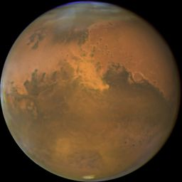 Mars at opposition in 2005