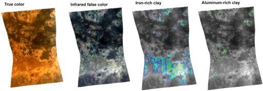 Minerals in Mawrth Vallis, Mars