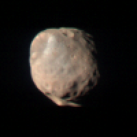 Phobos in color
