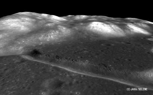 Hadley Rille as seen by Kaguya's Terrain Camera