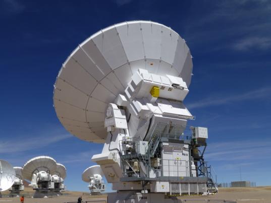 ALMA Radio Telescope Dish
