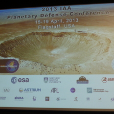 Planetary Defense Conference Slide