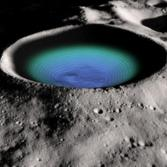 Shackleton Crater False Color LRO Image