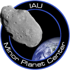Minor Planet Center Logo