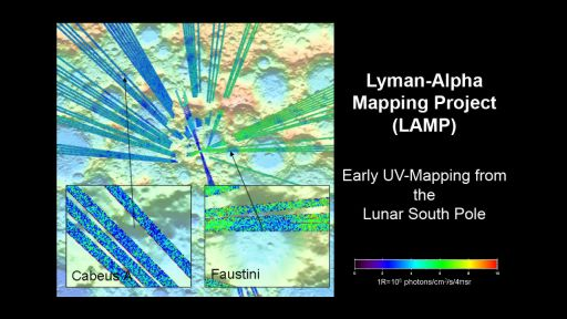 First results from LRO LAMP