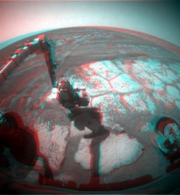 Opportunity at Valdivia in 3-D
