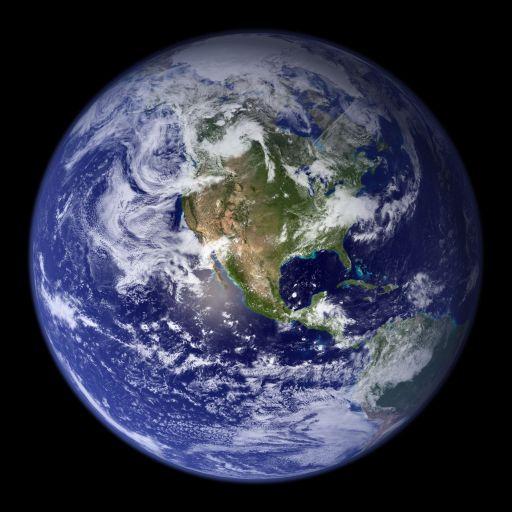 Earth! A Spectacular 'Blue Marble'