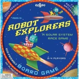 Robot Explorers: A Solar System Race Game