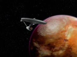Enterprise at Mars