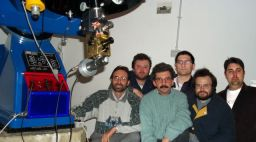 The observing team of the Associazione Friulana di Astronomia e Meteorologia