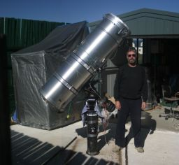Anthony Wesley, discoverer of the 2009 Jupiter impact