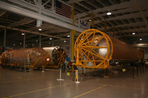 Atlas V Rocket Components
