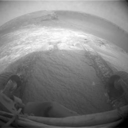 Opportunity's first dip into Victoria Crater