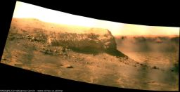 View of Cape Verde on sol 1,487