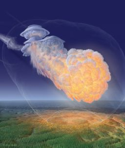 The Tunguska air blast