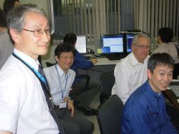 IKAROS operations center, June 3, 2010