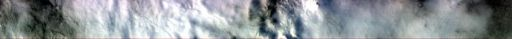 EO-1 Hyperion swath across Borup Fiord Pass