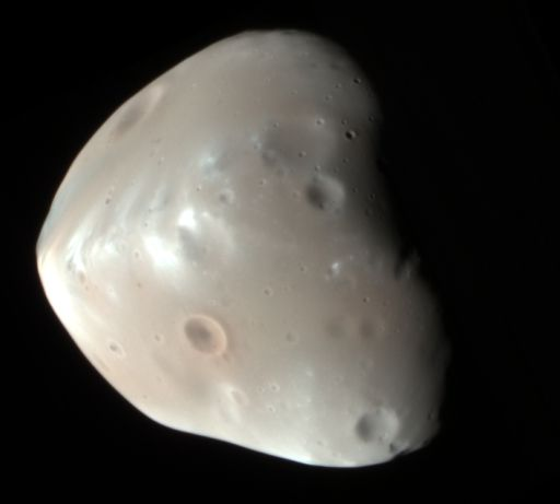 HiRISE image of Deimos