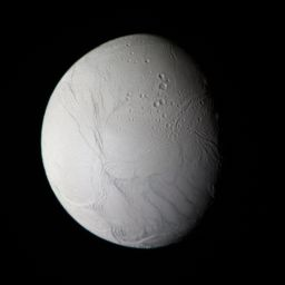 Enceladus in natural color