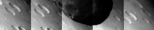 Phobos from Mars Express HRSC SRC