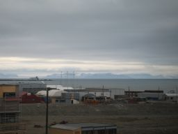 View from Longyearbyen