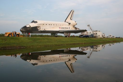 Endeavour Returns from Final Flight