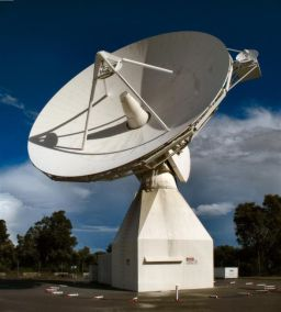 ESA's Perth radio tracking station