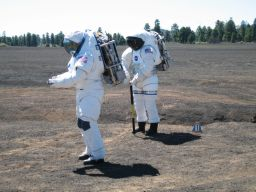 Testing Different Spacesuits