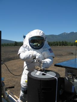 Field Work in the Spacesuit