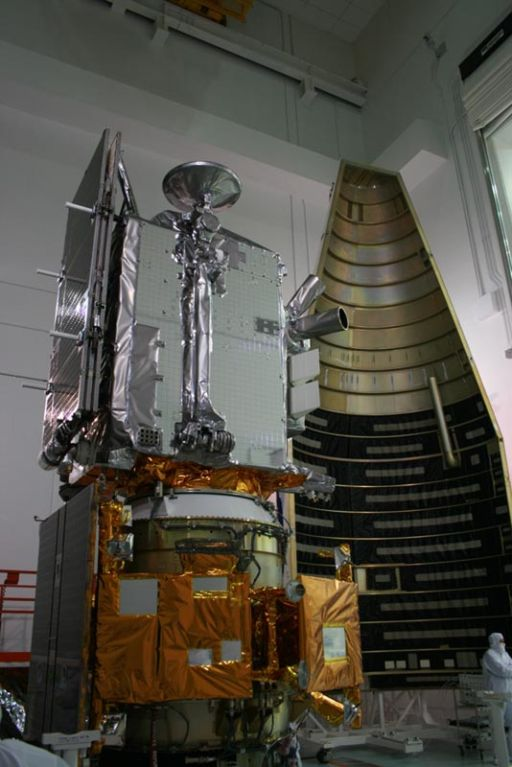 LRO and LCROSS at Astrotech Payload Facility