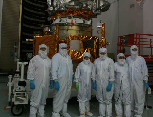 LRO and LCROSS in Clean Room