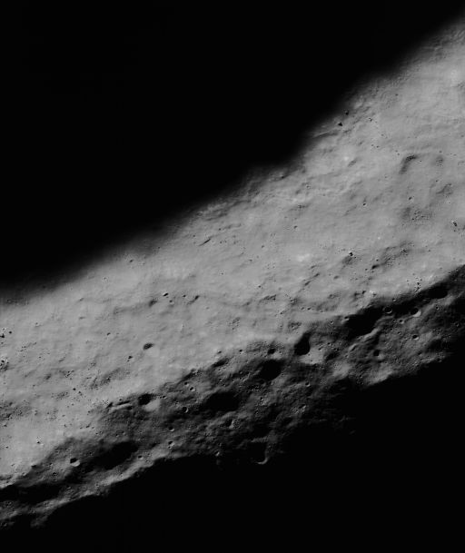 Rim of Shackleton Crater