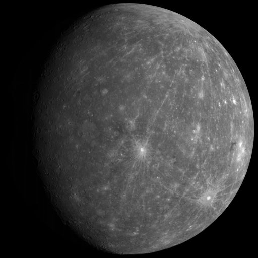 Massive MESSENGER Mercury Mosaic