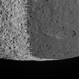 Rhea with a lot of sawtooth truncation