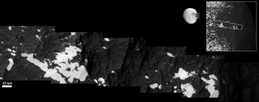 Iapetus' Voyager mountains
