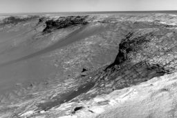 Detail from Opportunity's sol 1002 Navcam panorama