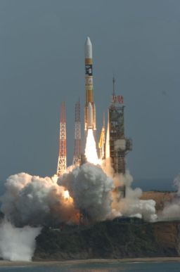 Kaguya launches to the Moon