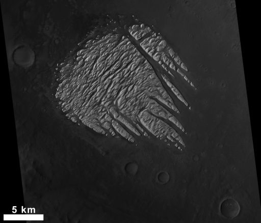 View of White Rock from Mars Reconnaissance Orbiter