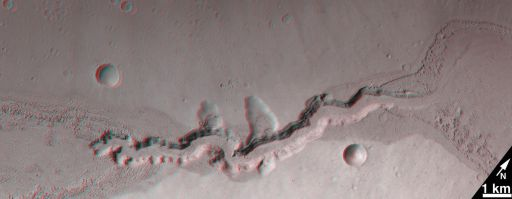Cataract in Kasei Valles