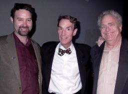 Planetary Society's Jim Bell, Bill Nye, Louis Friedman