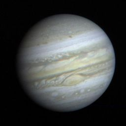 Voyager 1 approaches Jupiter