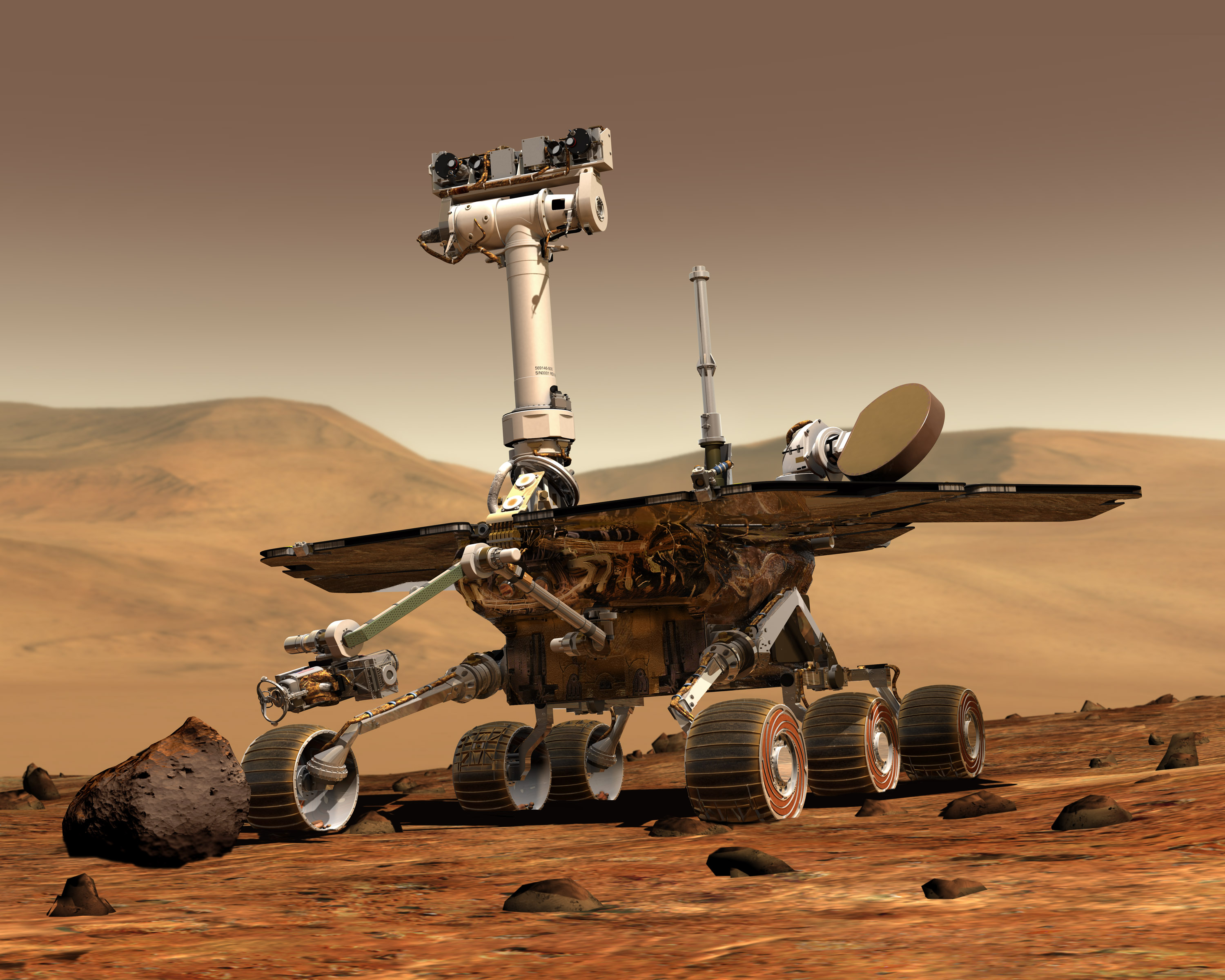 Mars exploration rovers update as spirit and opportunity rove on mars exploration rover sciox Images