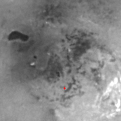 A candidate lake on Titan?