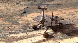 Opportunity in Endurance Crater