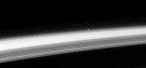 Alpha Centauri as seen from Saturn