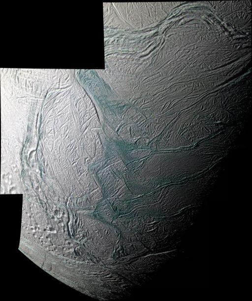 Enceladus' Southern Hemisphere