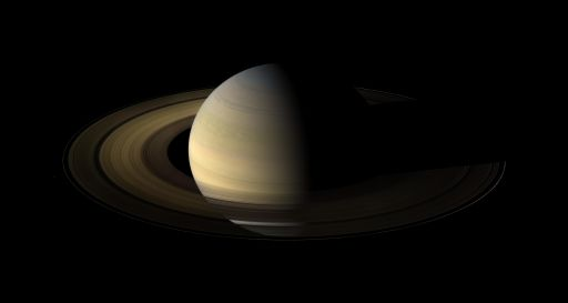 Saturn at equinox
