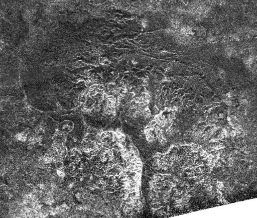 Southern Canyons of Titan